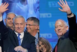 Benjamin Netanyahu y Beny Gantz, en segundas elecciones en Israel