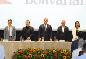 Iván Duque asistió al lanzamiento del nuevo complejo de tecnología y aprendizaje en la UPB