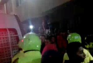 Fletero le disparó a un policía cuando sacaba plata en el municipio de Sabaneta