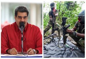 Nicolás Maduro habría permitido la presencia de guerrilleros del ELN en Venezuela