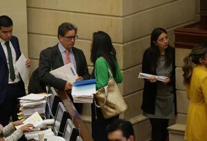 Minhacienda, Alberto Carraquilla, en debate sobre el presupuesto 2020