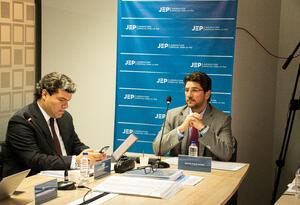 El exsenador David Char comparece ante la JEP