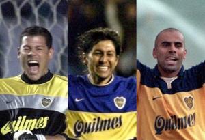 Óscar Córdoba, Jorge Bermúdez y Mauricio 'Chicho' Serna