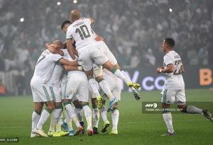 Jugadores de la Selección de Argelia