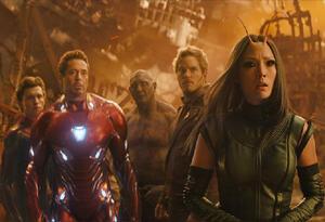 Escena de Avengers: Infinity War