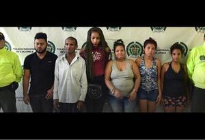 Banda de explotación sexual que delinquía en varios municipios de La Guajira.