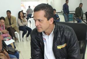 Juan Carlos Saldarriaga, candidato a alcaldía de Soacha