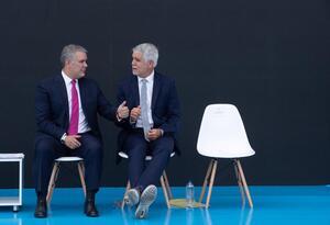 Presidente Duque y Alcalde Peñalosa