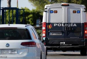 Vehículo de la policía española