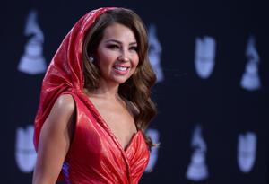 Thalia en los Grammy Latinos