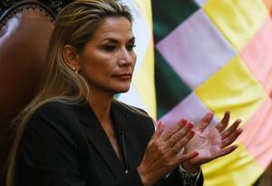 Janine Áñez, presidenta interina de Bolivia