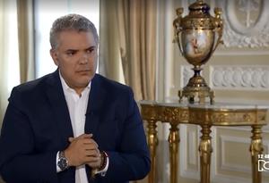 Presidente Iván Duque en entrevista con Noticias RCN