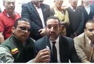 Imagen tomada del video que circula en redes sociales