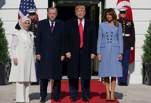 Trump recibe en la Casa Blanca a Erdogan