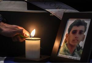 Víctimas del conflicto armado en Colombia.