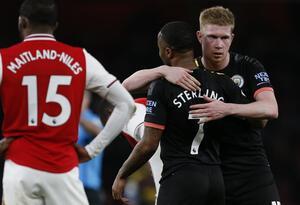 Manchester vs Arsenal en la Premier League