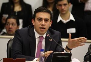 Alexander Vega Rocha, registrador nacional del Estado Civil