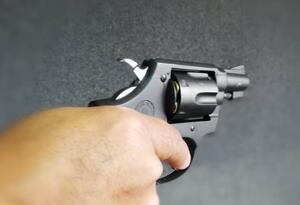 Arma de fuego asesianto