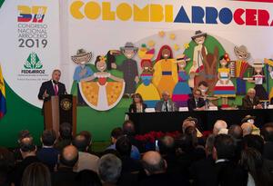 Presidente Duque en el Congreso Arrocero