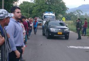 Apertura de la vía Cúcuta-Ocaña-Tibú