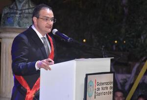 Silvano Serrano Guerrero, Gobernador de Norte de Santander