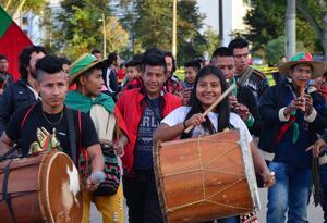 Marcha de la Guardia Indígena