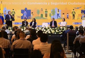 Iván Duque presenta Política de Convivencia y Seguridad en Medellín