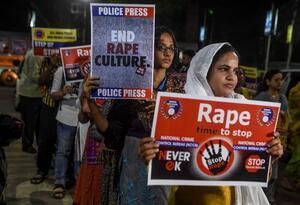 Manifestaciones en la India contras las violaciones sexuales