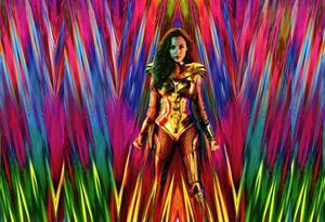 Arte de Wonder Woman 1984