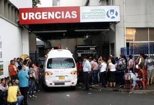 Ambulancias en guerra en Bucaramanga