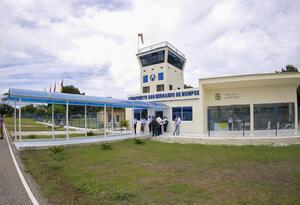 Este es el aeropuerto de Mompox.