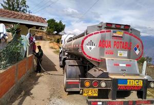El racionamiento diario en Aratoca es de 4 horas.