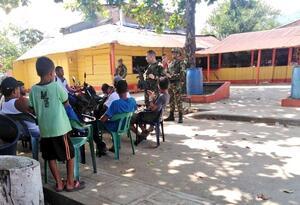 Tropas del Ejército hacen presencia en Tarazá, Antioquia