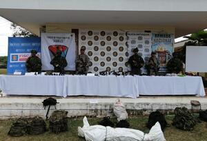 Ofensiva contra 'Los Caparros' en el Bajo Cauca antioqueño