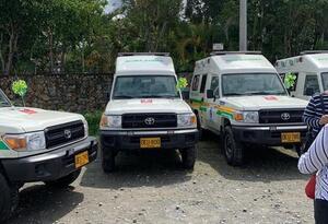 ambulancia Argelia