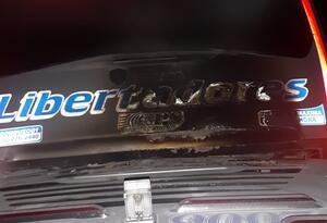 Bus atacado en vía Sogamoso - Yopal.