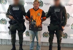 El capturado fue enviado a la cárcel de Montería.