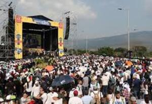 Concierto en la Frontera de Colombia y Venezuela