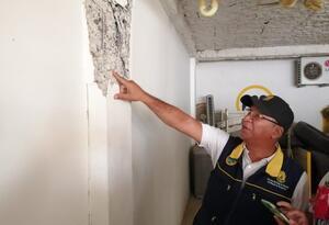 Se trata del edifico Balcones de Providencia ubicado en el barrio La Campiña. Las autoridades ordenaron evacuación preventiva.