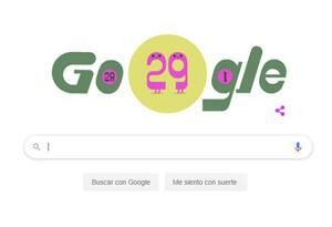 Doodle de Google por año bisiesto