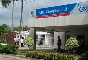 Los servicios del hospital CARI fueron suspendidos.