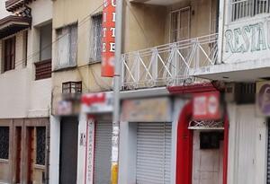 El sitio donde ocurrieron los hechos. Centro de Medellín