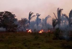 Alertas de conflagración en Córdoba