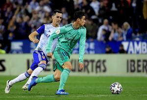 James Rodríguez en la Copa del Rey