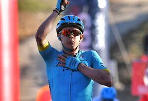 Miguel Ángel López, ciclista colombiano