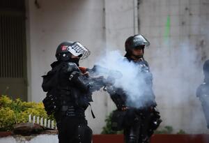 Disturbios en la pedagógica - 19 de febrero