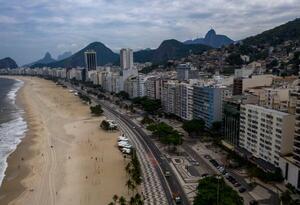 Playas de Río de Janeiro - coronavirus en Brasil