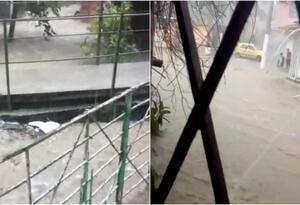 Se presentó desbordamiento de ríos y quebradas.