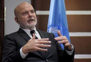 Michel Forst, relator especial de la ONU sobre los derechos humanos
