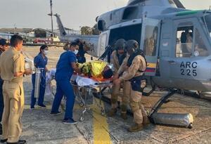Costarricense es rescatado por Armada Colombiana